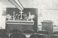 Basement Worship Area
